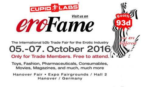 EroFame 2016 exhibition Erotix award host